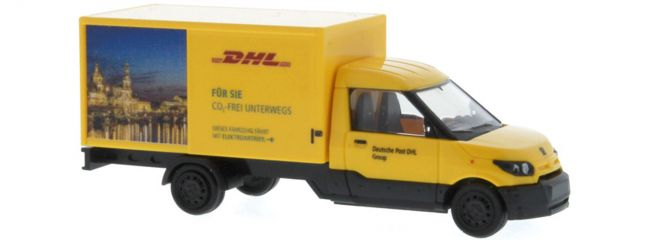 RIETZE 33013 Streetscooter Work L DHL Dresden | Modellauto 1:87