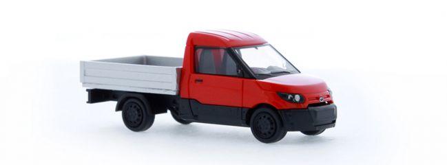 RIETZE 33201 Streetscooter Work mit Pritsche Automodell 1:87