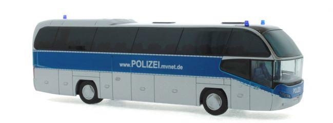 RIETZE 67134 Neoplan Cityliner 07 Landespolizei Mecklenburg - Vorpommern Blaulichtmodell 1:87