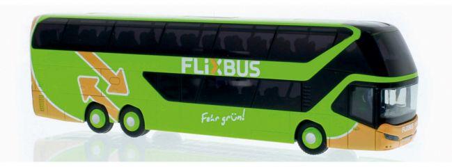 RIETZE 69043 Neoplan Skyliner 2011 Flixbus Busmodell Spur H0