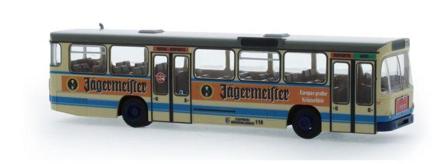 RIETZE 72349 MAN SL200 NEW Mönchengladbach Jägermeister-Werbung Busmodell 1:87