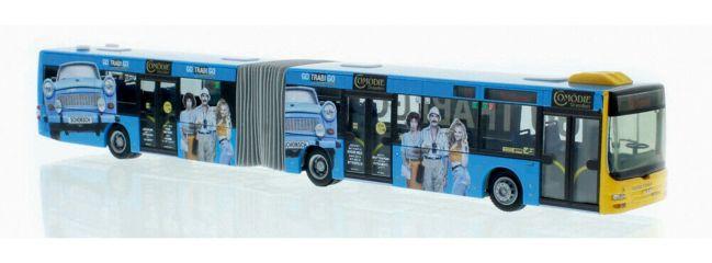 RIETZE 72782 MAN Lions City G 2008 Taeter Tours Dresden Go Trabi Go Busmodell Spur H0