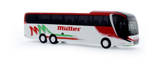 RIETZE 74811 MAN Lion's Coach L 2017 M�üller Reisen Pforzheim Busmodell 1:87