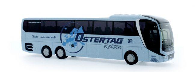 RIETZE 74818 MAN Lions Coach L 2017 Ostertag Reisen Nattheim Busmodell 1:87