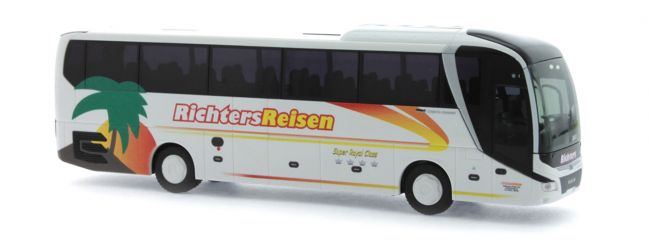 RIETZE 74819 MAN Lions Coach 2017 Richters Reisen Nordhorn Busmodell 1:87