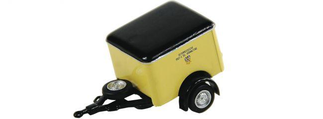 Roco 05378 Kofferanhänger für Postautobusse | Anhänger-Modell 1:87