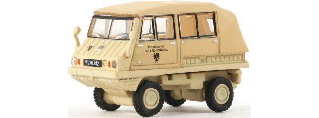 Roco 05391 Haflinger mit Plane ÖPT   Modellauto Spur H0