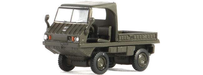 Roco 05395 Puch Haflinger Schweizer Armee | Modellauto Spur H0