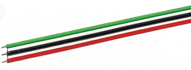 Roco 10623 Flachbandkabel   3-polig   10 m   0,7 mm²