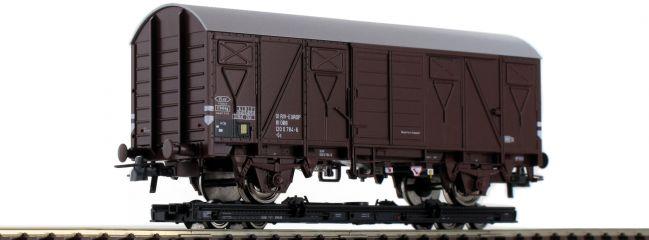 Roco 34575 Rollwagen + Güterwagen Gs ÖBB | DC | Spur H0e