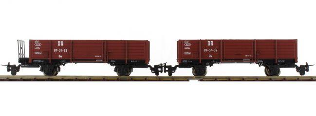 Roco 34589 Schotterwagen-Set 2-tlg. DR   DC   Spur H0e