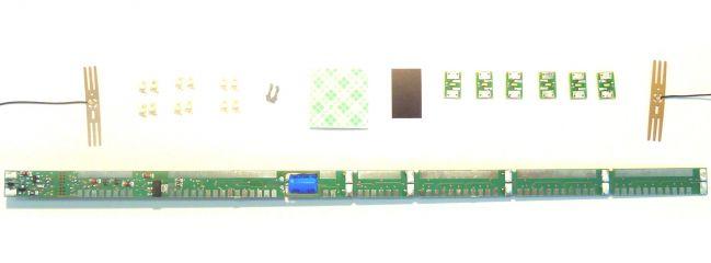 Roco 40420 LED-Beleuchtungssatz f. 4a Personenwagen   Spur H0