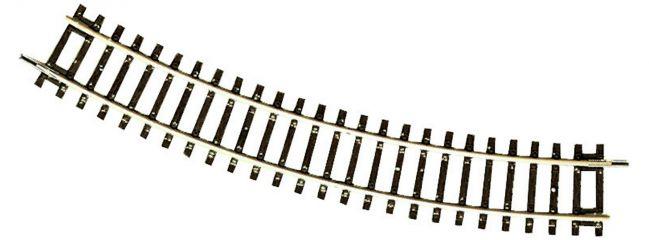 Roco 42422 Gebogenes Gleis R2 | r 358 mm | 30° | DC | Gleise Spur H0