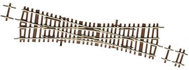 Roco 42448 Einfache Kreuzungsweiche | Länge 230 mm | DC RocoLine | Gleise Spur H0