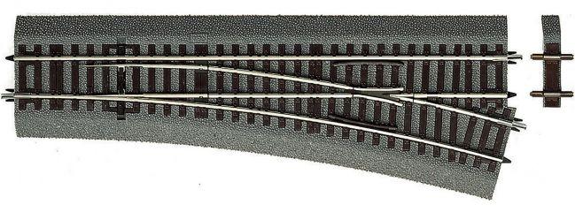 Roco 42533 Weiche rechts Wr15 | Länge: 230mm | mit Polarisierung | Roco Line | Spur H0