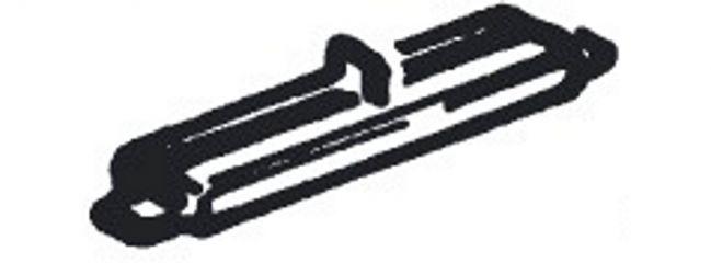 Roco 42611 Isolierschienenverbinder | 24 Stück | RocoLine | Spur H0