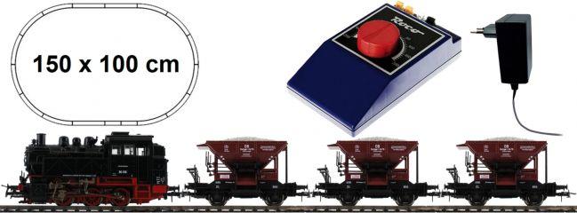 Roco 51159 Startset Dampflok BR 80 mit Güterzug DB | DC analog | Spur H0 online kaufen