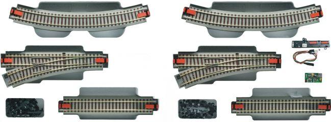 Roco 51250 Gleis-Ergänzungsset zu Digi-Startpackung | Spur H0