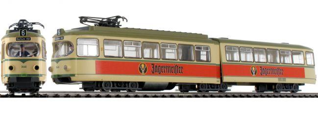 Roco 52580 Gelenktriebwagen Jägermeister | DC analog | Spur H0