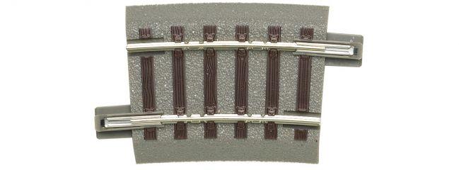 Roco 61129 gebogenes Gleis R2   r 358 mm   7,5°   geoLine   Spur H0