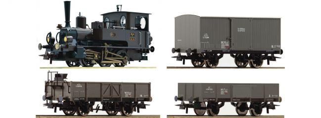 Roco 61457 Zugpackung Rh 85 + Güterzug Kaiserzeit KKStB | DC analog | Spur H0