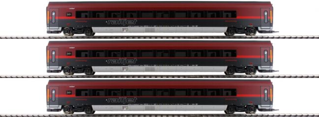 Roco 64192 Personenwagen-Set 3-tlg. Railjet ÖBB | DCC | Spur H0