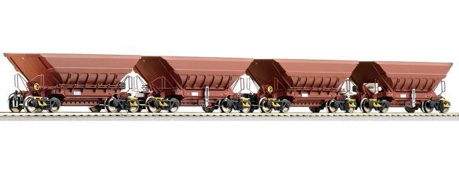 Roco 66080 4-tlg. Set: Erzwagen Master-Slave LKAB   DC   Spur H0