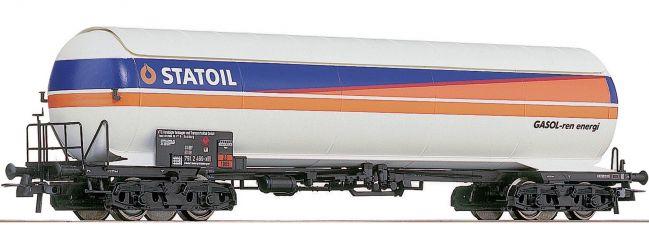 """Roco 66464 Druckgaskesselwagen """"STATOIL"""" der NSB Spur H0"""