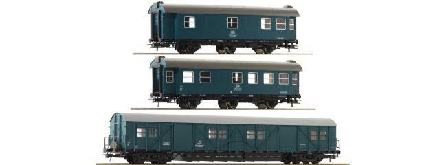Roco 67198 Bauzugwagen-Set 3-tlg. DB | DC | Spur H0
