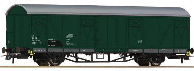 Roco 67614 Gedeckter Güterwagen Gbqs CSD | DC | Spur H0