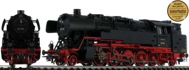 Roco 72266 Dampflok BR 85 DB   DC analog   Spur H0