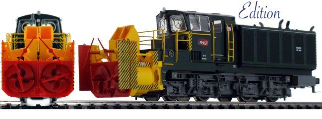 Roco 72808 Diesellok Beilhack Schneeschleuder SNCF | DCC Sound | Spur H0