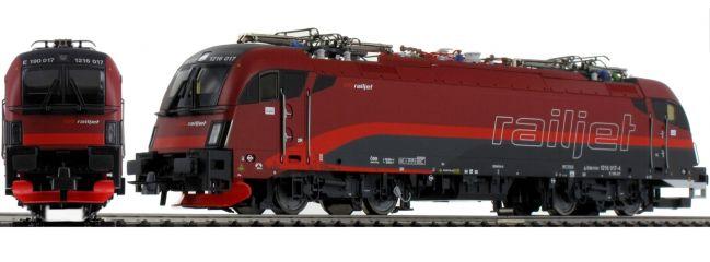 Roco 73247 E-Lok Rh 1216 Railjet ÖBB | DC analog | Spur H0