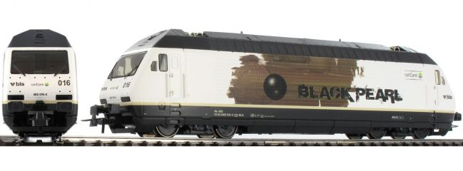 Roco 73277 E-Lok Re 465 016 Black Pearl SBB | DCC-Sound | Spur H0
