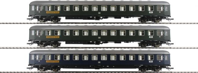 Roco 74127 Personenwagen-Set 3-tlg. Scharnow Reisen DB   DC   Spur H0