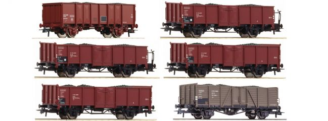Roco 75945 Kokstransport Display 12-tlg DB CFL SNCF | DC | Spur H0