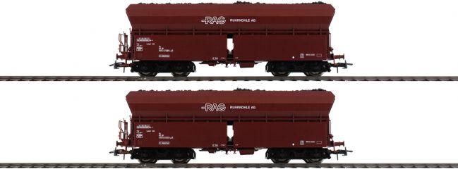 Roco 76058 2-tlg. Set 1 Selbstentladewagen RAG | DC | Spur H0