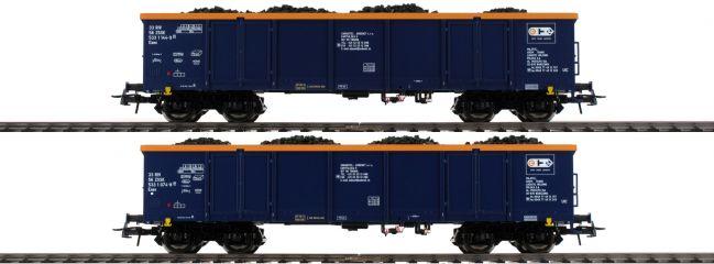 Roco 76086 Güterwagen-Set 2-tlg. Eaos Chem Trans Logistic   DC   Spur H0