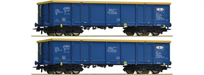 Roco 76086 Güterwagen-Set 2-tlg. Eaos Chem Trans Logistic | DC | Spur H0