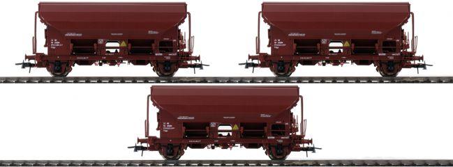 Roco 76177 3-tlg. Set Schwenkdachwagen Tds der ZSSK | Spur H0