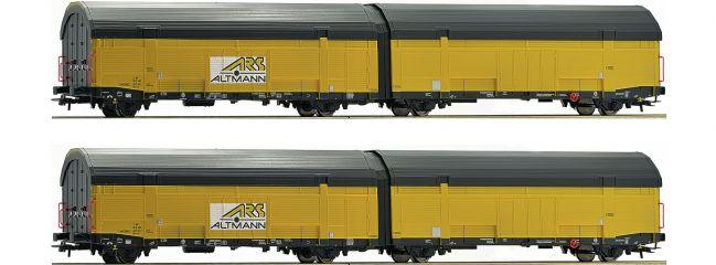 Roco 76408 Autotransportwagen-Set 2-tlg. ARS Altmann | DC | Spur H0
