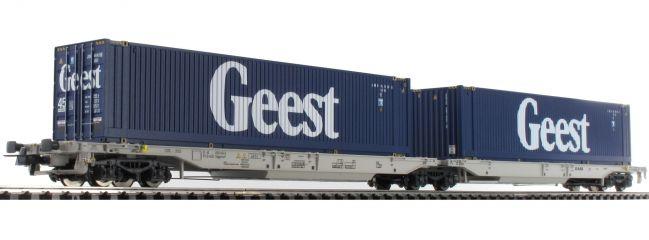 Roco 76418 Gelenktaschenwagen Sdgmmrs/T2000 Geest AAE | DC | Spur H0