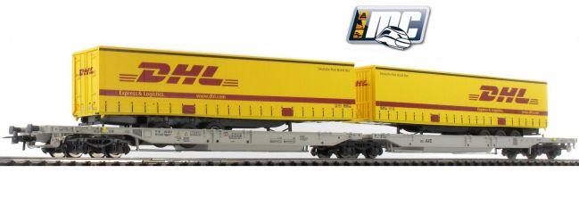 Roco 76425 Doppeltaschenwagen T-2000 DHL | AAE | DC | Spur H0