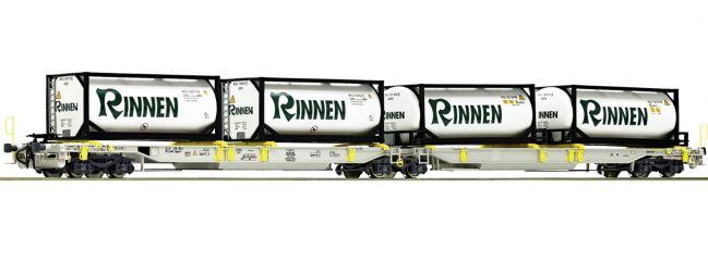 Roco 76427 Gelenktaschenwagen T2000 Rinnen AAE | DC | Spur H0