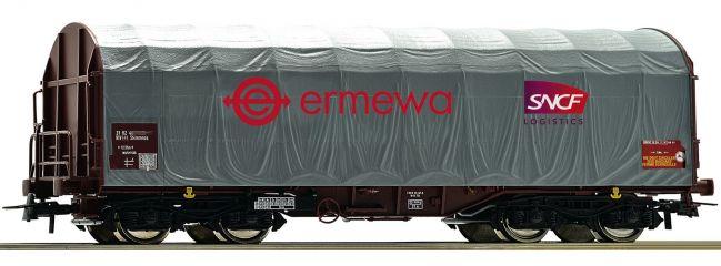 Roco 76450 Schiebeplanenwagen Shimms Ermewa | DC | Spur H0