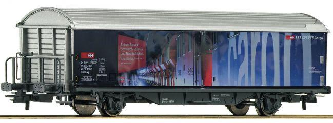 ausverkauft | Roco 76490 Schiebewandwagen Hbils SBB | DC | Spur H0