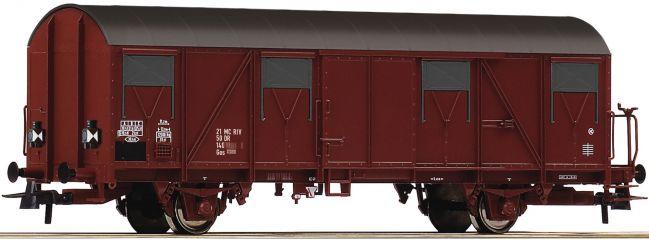 Roco 76611 Ged. Güterwagen Gos DR | DC | Spur H0