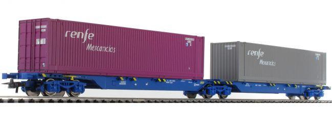 ausverkauft | Roco 76641 Gelenktragwagen Sggmrs Renfe | DC | Spur H0