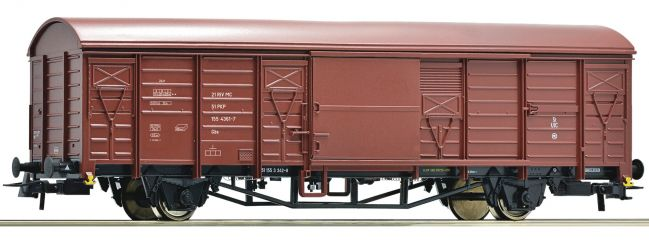 Roco 76670 Güterwagen Bauart Gbs-x  | PKP | DC | Spur H0