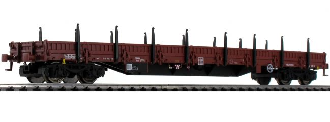 ausverkauft | Roco 76981 Rungenwagen Bauart Res PKP | Spur H0